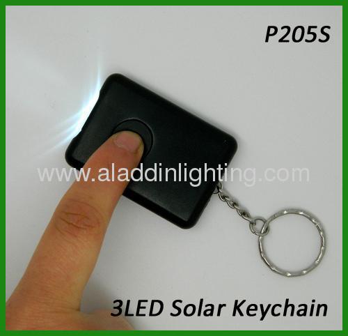 Gift 3 LED Solar keychain