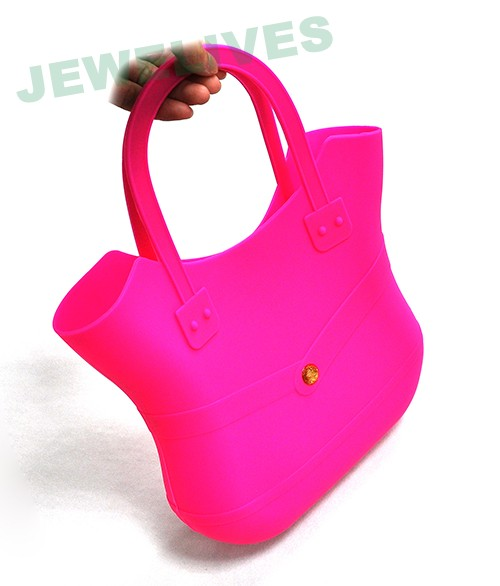Colorful Silicone & RubberLadies Hand bag