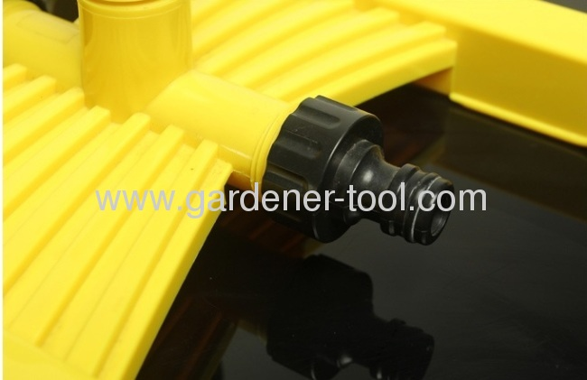 Plastic Water Impulse Sprinnkler With Plastic H form Base