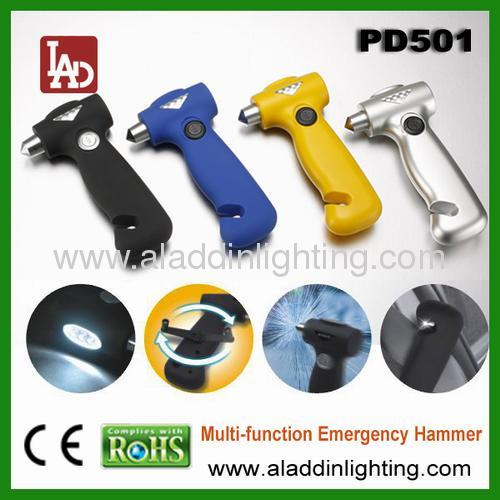 Car emergency dynamoLED flashlight