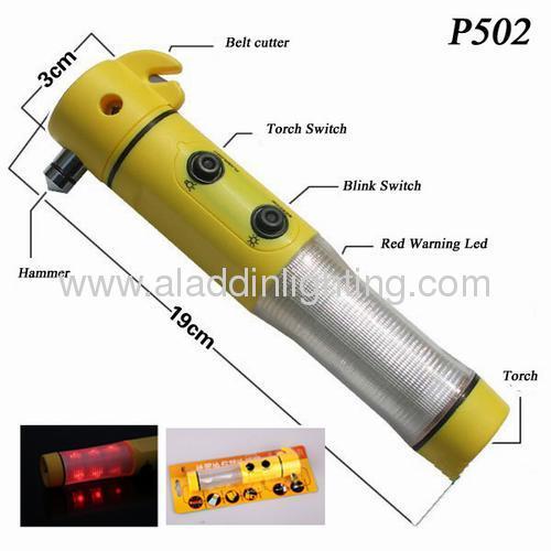 4IN1 Car emergency Hammer Torch