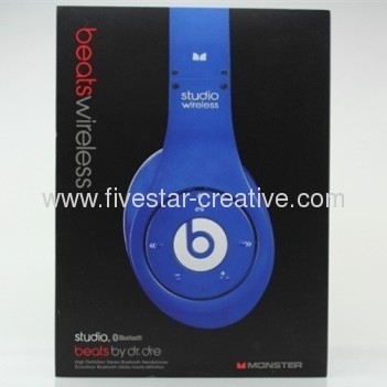 Beats by Dr.Dre Studio Wireless HD Bluetooth Headphones Blue