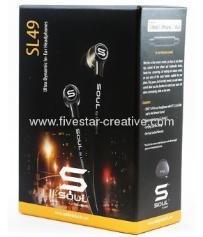 SOUL by Ludacris SL49 Ultra Dynamic In-Ear Headphones