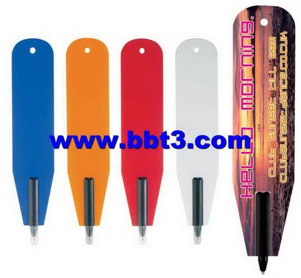 Book mark promotional ballpoint pens