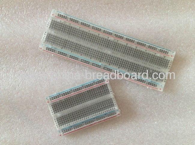 ZYJ-60 - - 400 points transparent solderless Breadboard