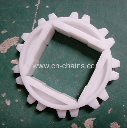 Plastic conveyor sprocket (RW80 10T)Meat applications including tray pack lines and metal detectors