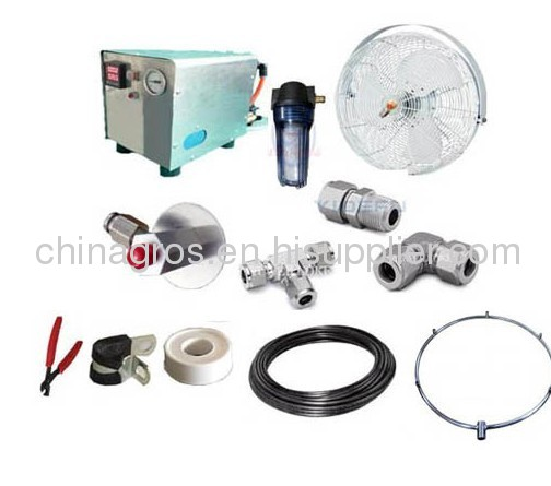 humidify system mist misting system cooler system fog system machine humidify project,mist project