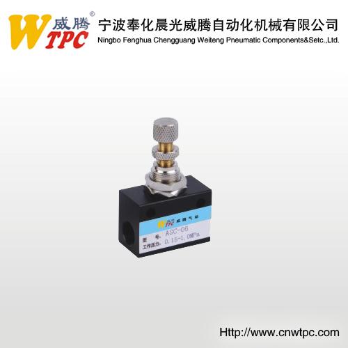 Flow control valve mechanical valve check valve hand slide valve pneumatic valve quick exhaust valve ASC-08