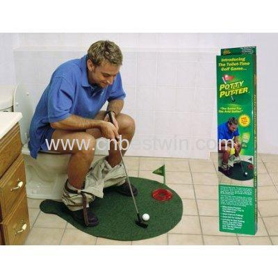 BIG MOUTH TOYS BUTT PUTT, FARTING GOLF PUTTER GAME