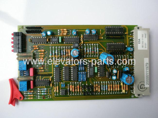 Thyssen elevator spare parts ESA 6631011660