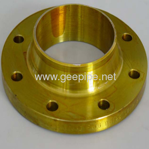 China ASME B16.5 alloy steel forged seamless flange