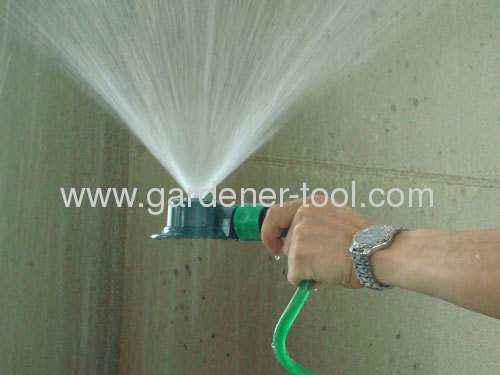 Zinc Metal Garden Sprinkler With Powder Coat Surface Treatment