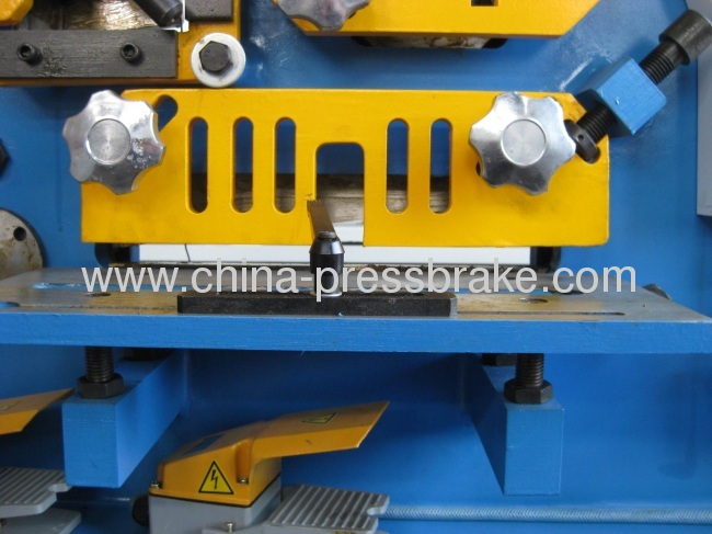 bending and cutting ironworker machine