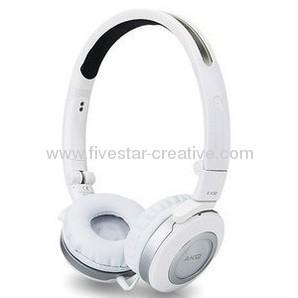 AKG K430 Mini Foldable Headphone in White