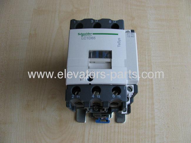 Schneider Elevator contactor LC1D65