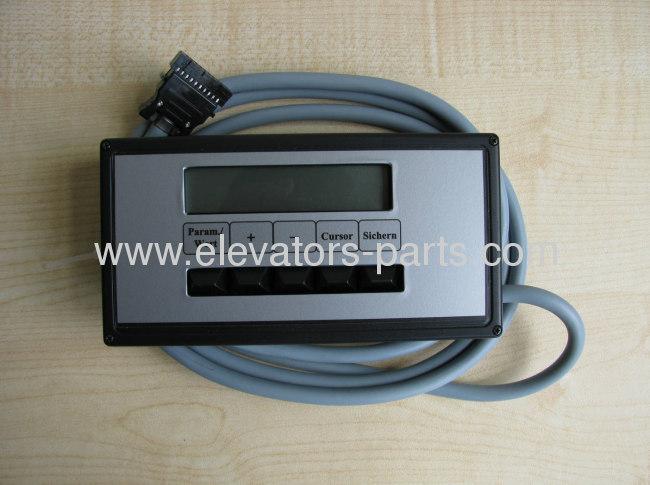 Thyssen Elevator Inverter Module debugging tool