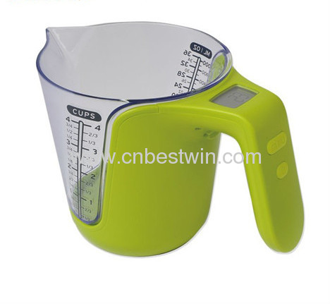 DIGITAL MEASURING CUP SCALE TO MAKE A EASY KITCHEN LIFE