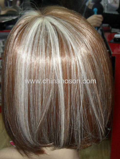 Newest pretty synthetic hairpiece for women