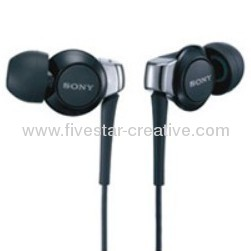Black New Sony MDR-EX300SL In-ear Earphones Headphones