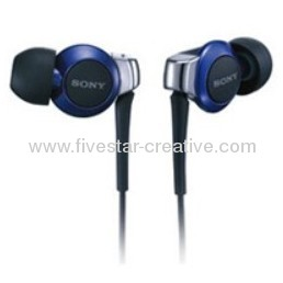Sony MDR-EX300SL Stereo Headphone in Blue