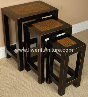 wooden furniture flower table