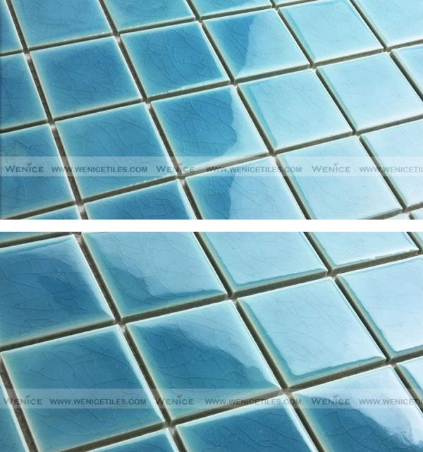 Mini tile 45x45 for swimming pool