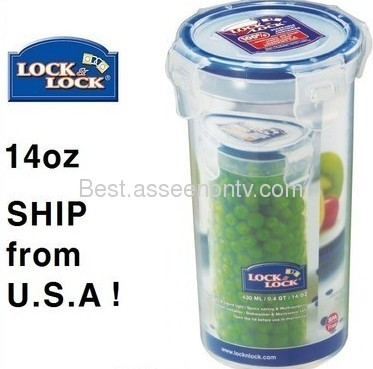Easylock food storage plastic food container keep fresh food container