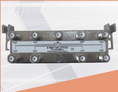 5-2400MHZ LOTTECK 33-3G8W-A/B 8-WAY SPLITTER