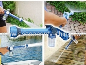 EZ JET CANNONWATER Family Use Garden High-Pressure Water Jet For Floor / Plant / Swimming Pool / Wall self use Or self protection