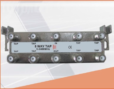 5-2400 MHz LOTTECK 33-3G8T 8-way tap