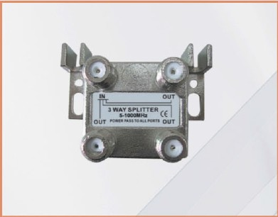 5-1000MHZ LOTTECK 33-1G3W-N/B 3-WAY SPLITTER