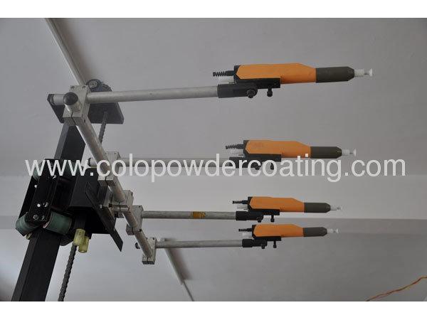 2013 Automatic colo-2000D Reciproator with electrostatic powder gun