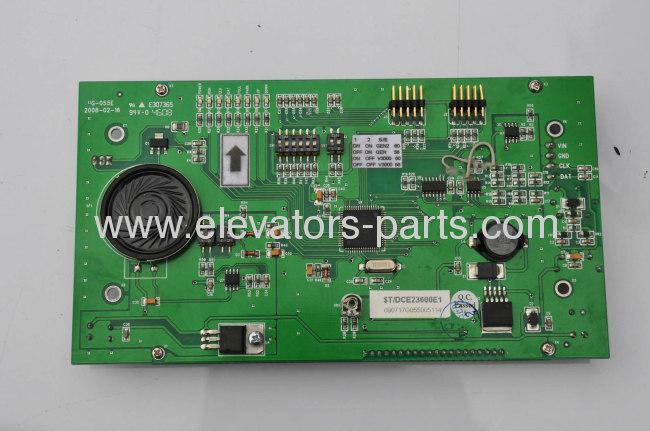OTIS Elevator Spare Parts DCE23600E1