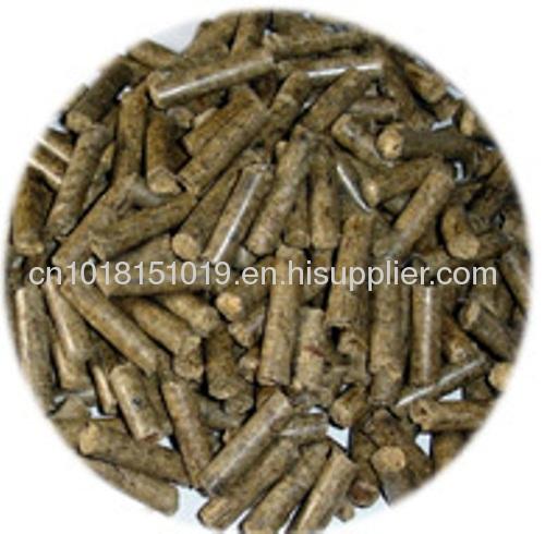 pellets press in wood pellets