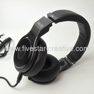 Monster Beats by Dre Detox Pro Special Edition Professional Headphones Black