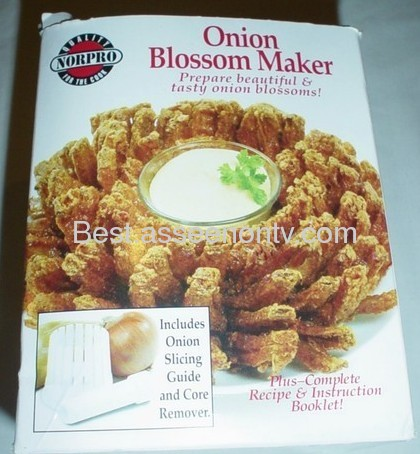 ONION BLOSSOM MAKER The Onion Gourmet~Blossom Maker