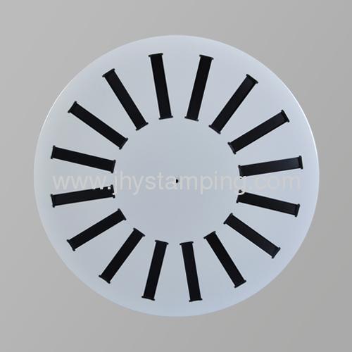 ventilation part -Round diffuser
