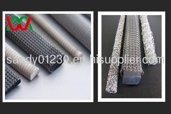 knitted wire mesh for shielding tape