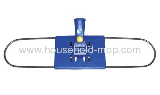 Dust Mop Frame with Firm Stable and FlatMade of Metal and Cotton Mop Frame