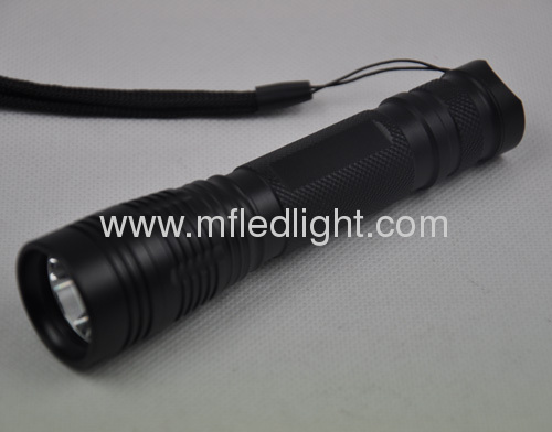 Multifunction strong power cree led tactical flashlight rechargeable