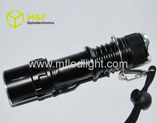 portable rechargeable t6/Q5 LED Flashlight cree tactical torch