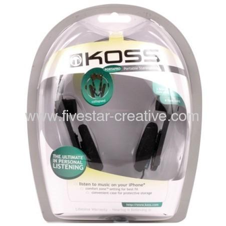 Koss Porta Pro Headband Headphones-Black/Silver