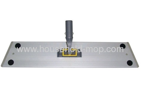 Wet microfiber chenille flate mop frame head