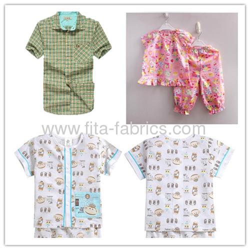 2013 New trendy, fruit printed seersucker fabric for children