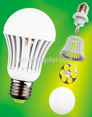 5.5W MCOB LED Bulb E27 R60