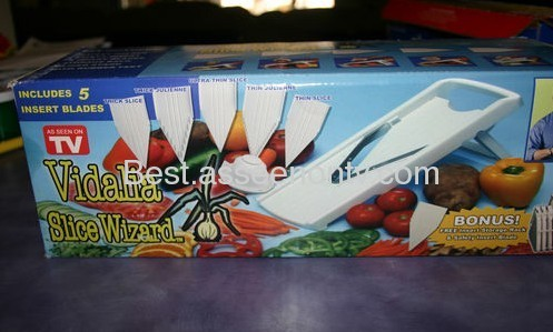 Vidalia Slice Wizard New As Seen TV 10 Blades vegetable slice