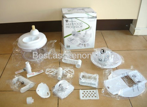 Multi-functional food processor Kithen food slicer as seen on