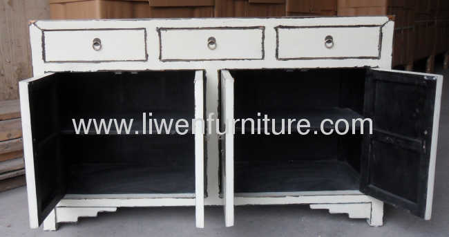 Chinese antique white Buffet