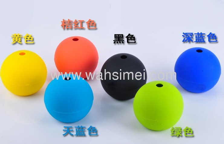 New silicone ball ice cream maker factory for multitudinous silicone ice cube mould