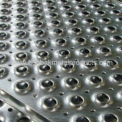 Safety Tread Anti Skid Perforated Plate Mesh From China